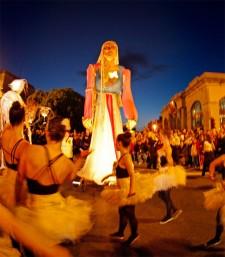 Credit: Colm Hogan: Orfeo, Macnas Parade 2009