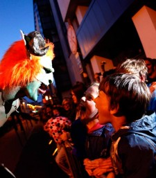 Volunteer at the Macnas Parades in Galway & Dublin