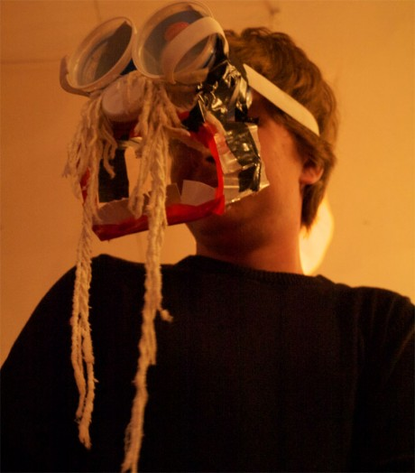 Macnas Young Ensemble perform 'Hunger', a devised presentation 2013