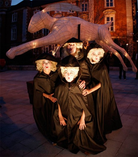 Three St. Patrick's Day performances for Macnas in Moscow & Dublin