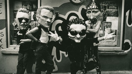 Zooropa World Tour 1992; Source: Macnas archive at NUI Galway