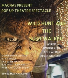 Macnas Presents Pop up Theatre Spectacle