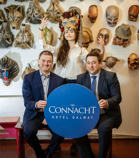 Macnas three-year partnership with Connacht Hospitality Group