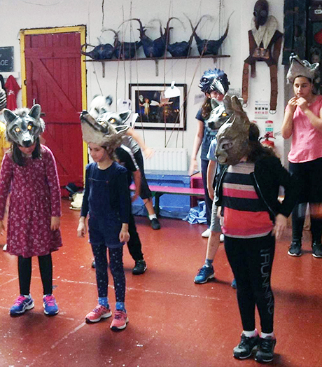 Macnas Óg Summer School for budding performers aged 7 – 12