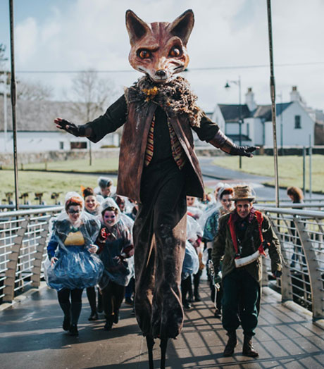 Macnas Launch Stilt Performance Workshops