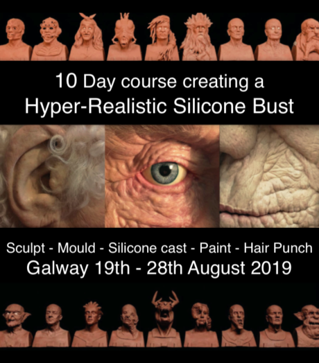 10 Day Hyper-Realistic Silicone Bust Course