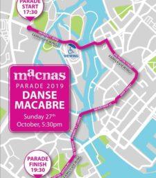Macnas Parade Route 2019